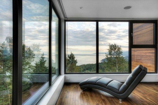 Французские пластиковые окна от пола до потолка – светло и тепло
